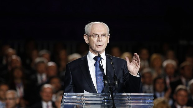 President of the European Union Herman Van Rompuy. Photo credit: Bloomberg