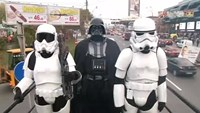 'Darth Vader' campaigns for Ukrainian parliament