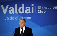 Putin accuses U.S. of damaging world order