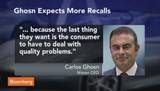 Nissan's Carlos Ghosn warns of more auto recalls