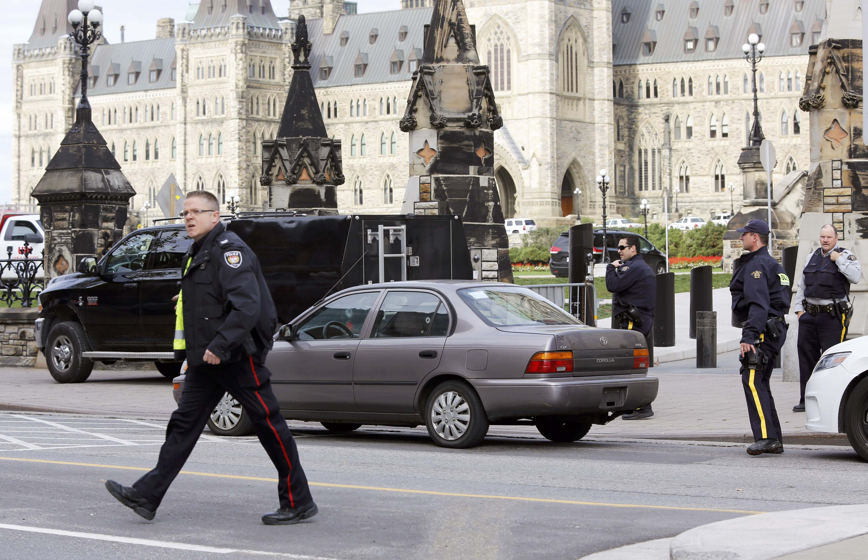 Canada parliament shooter made video, driven by ideology – police
