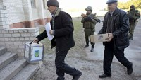 Ukraine votes in poll likely to elect pro-West assembly