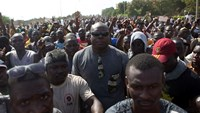 Burkina army chief announces creation of transitional government