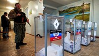 Pro-Russian rebels vote for leaders in eastern Ukraine