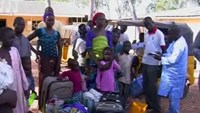 """We are just running to save our lives"" - man fleeing Nigeria town"