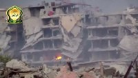 Fierce fighting in war-torn Syria - amateur video