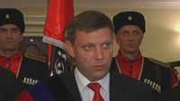 Rebels in Ukraine's east inaugurate Zakharchenko as leader