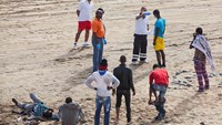 Immigrants on Canary Island tourist beach spark Ebola fears