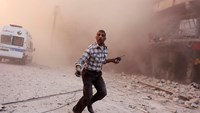 Sirens pierce fog of war in Aleppo