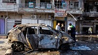 Car bombs kill atleast 23 across Baghdad