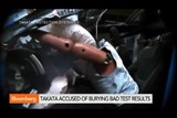 Takata accused of burying bad air bag test results