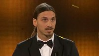 "Ibrahimovic wins ninth ""Golden Ball"""