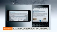 BlackBerry, Samsung join forces on mobile security
