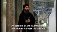 Islamic State leader says the military campaign against his group was failing - social media website