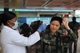 Chinese team arrives in Liberia to staff Ebola clinic