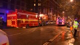 Several injured after suspected gas explosion in London hotel