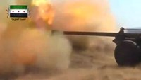 Planes in sky, cannons on ground as war rages on in Syria