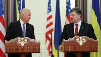 """We want to help""- Biden in Ukraine"