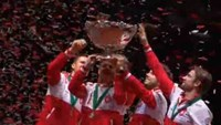 Vintage Federer seals first Davis Cup for Switzerland