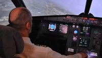 Flying enthusiast converts real-life aircraft cockpit into simulator