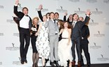 Germany jumps for joy at the International Emmy Awards