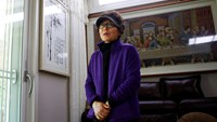 Families of South Korean ferry crew members face stigma