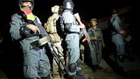 Afghan security forces prepare to take over