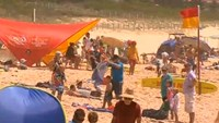 Children find baby's body on Sydney beach
