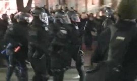 Ferguson protesters arrested in Portland after chaotic scuffles with police