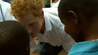 Britain's Prince Harry launches World Aids Day campaign