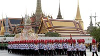 Thai military holds parade ahead of King's birthday