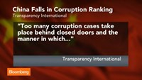 China falls in corruption ranking despite Xi's crackdown