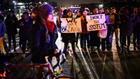 Calls for 'Justice' as protesters return to Washington streets