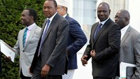 Kenyan president 'very excited' after ICC charges dropped
