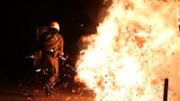 Chaotic scenes in Athens, as peaceful march turns into clashes