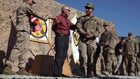 Hagel explains to soldiers why 1,000 of them must stay in Afghanistan