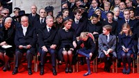 International royalty bid farewell to Belgium's Queen Fabiola