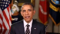 Obama thanks troops as Afghanistan combat mission ends