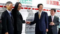Abe coalition secures big Japan election win with record low turnout