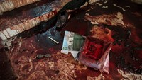 Pakistan's military shows bloodied interior of Peshawar school