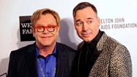 Elton John and partner tie the knot