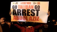Arrest call for Pakistan cleric