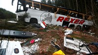 4 killed, 40 injured in bus crash on German highway -- police
