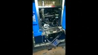 ATM raid goes off with a bang