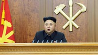 "North Korean on leader's speech: ""We will wage the struggle"""