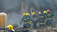 Five firefighters killed in China blaze