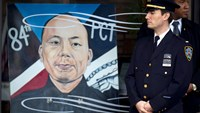 Thousands attend funeral of slain policeman