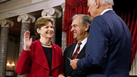 Senators sworn in as GOP takes over U.S. Congress