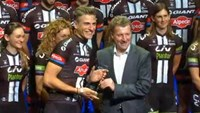 Giant-Alpecin team celebrates resurgence in German cycling