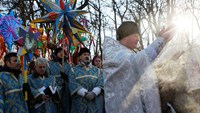 Prayers for peace as Ukraine celebrates Orthodox Christmas
